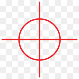 Collection of free Transparent crosshair video game.