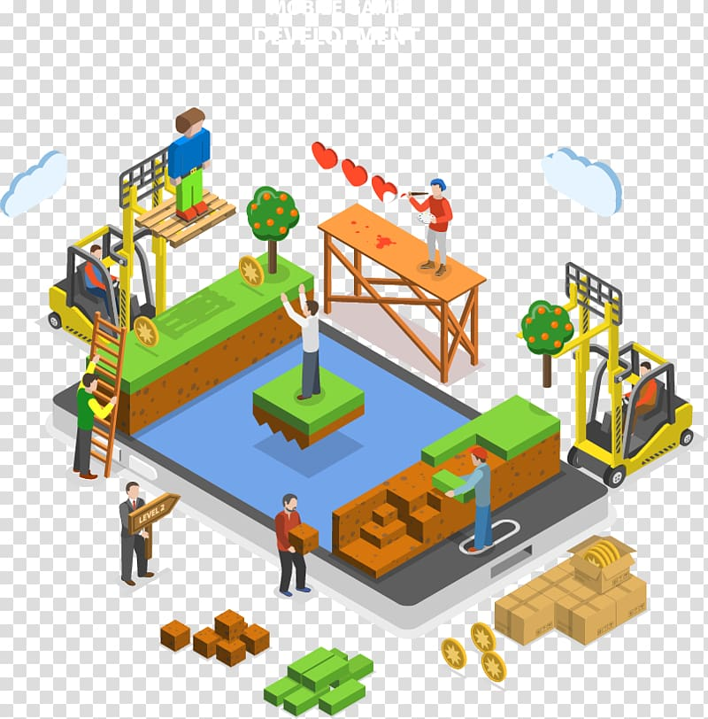 Video game development Mobile game Unity Game engine.