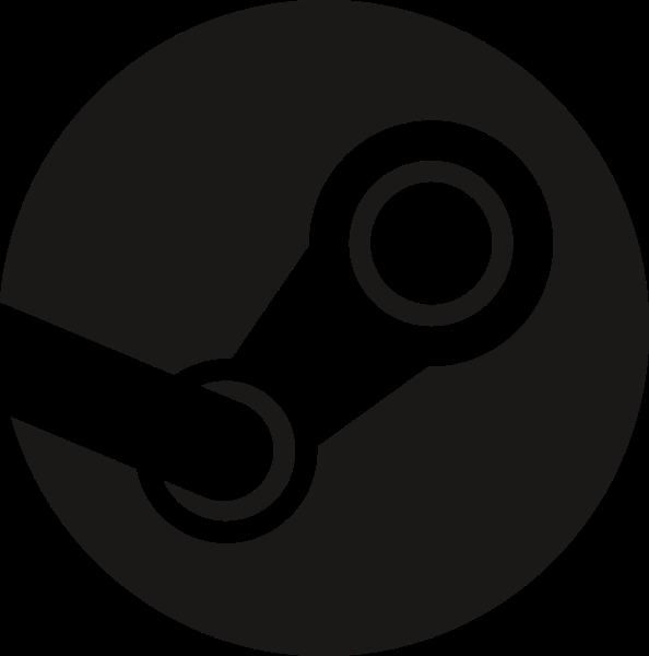 Steam Video game Logo.
