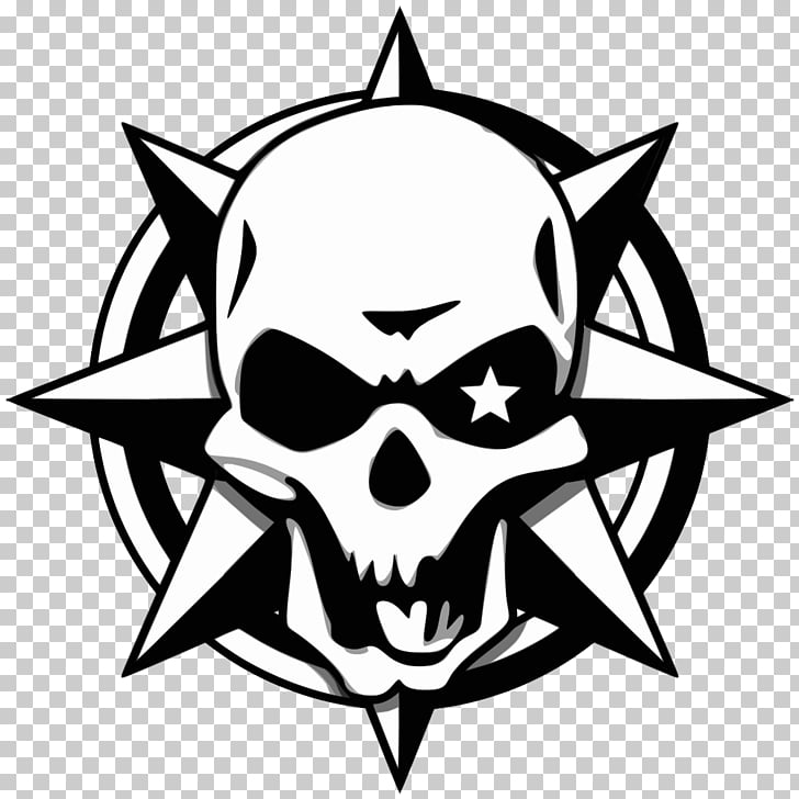 CrossFire Video game Logo, nice, skull logo PNG clipart.