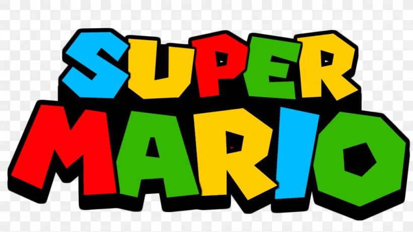 Super Mario Bros. Logo Video Game New Super Mario Bros, PNG.