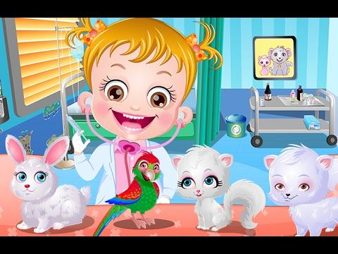 Baby Hazel Pet Doctor.