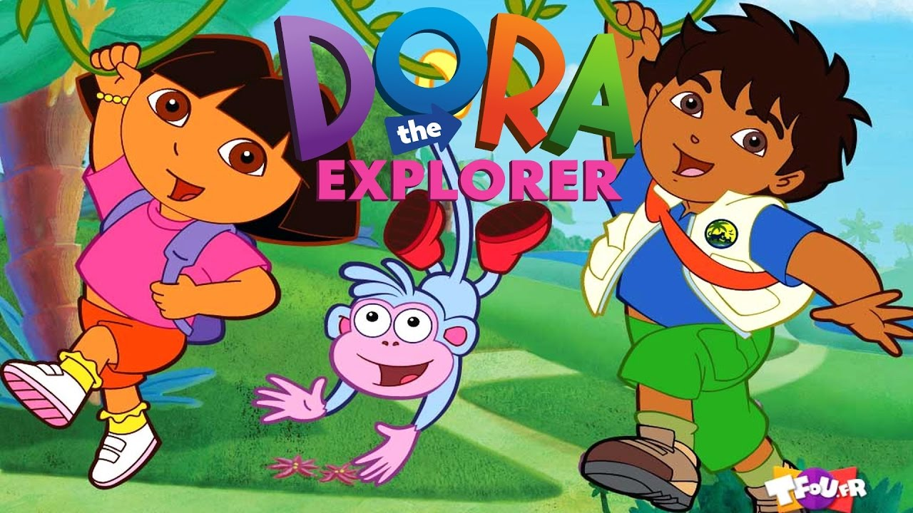 Dora The Explorer Video Games Movie Compilation An Hour of Kids.