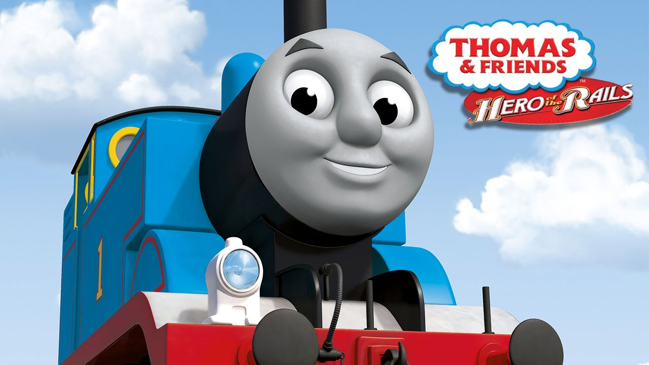 3 Thomas and Friends Hero of the Rails.