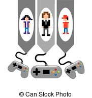 Clipart of Video game.