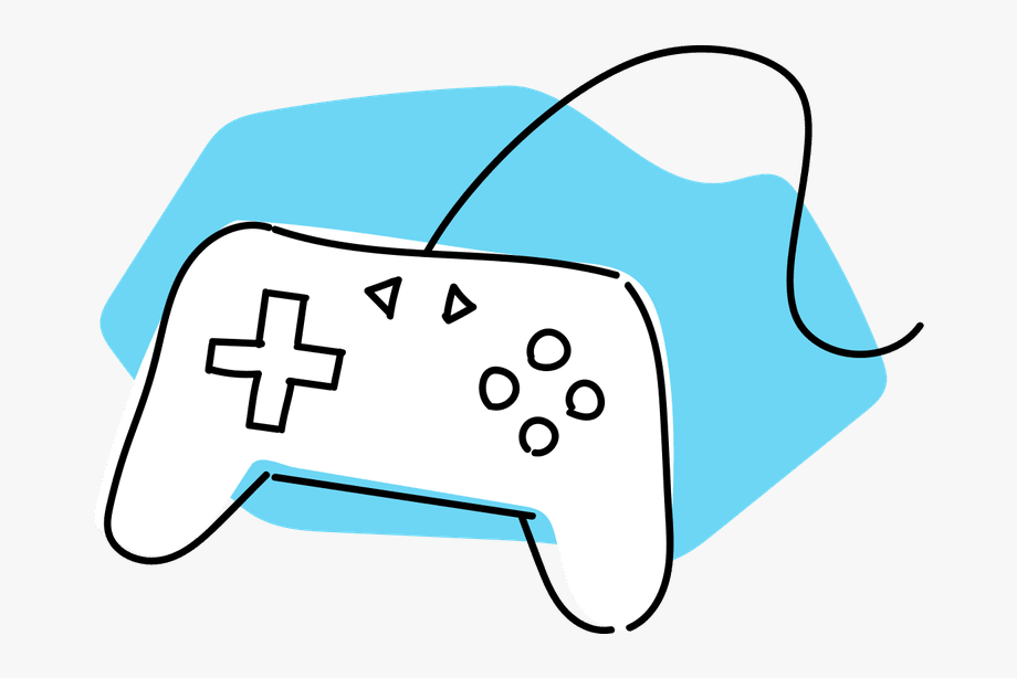 Svg Black And White Download Video Game Console Clipart.