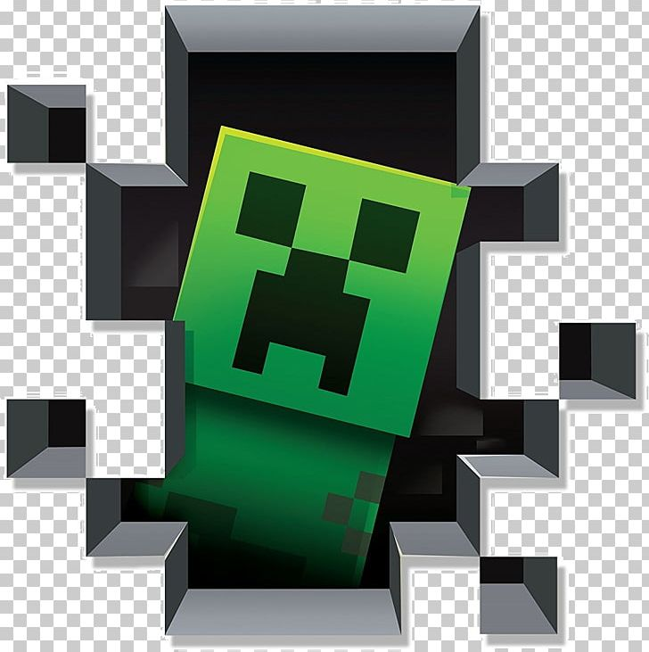 Minecraft Wall Decal Sticker Video Game PNG, Clipart, Brand.
