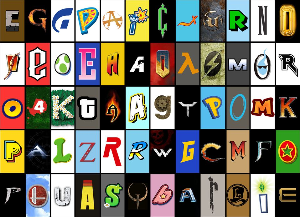 Name The Game: Video Game Font Quiz.