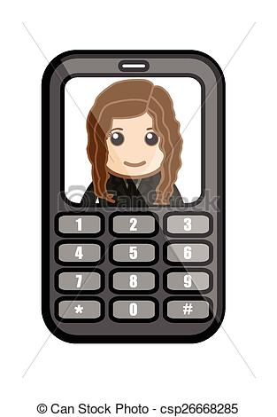 Vector of Video Chat.