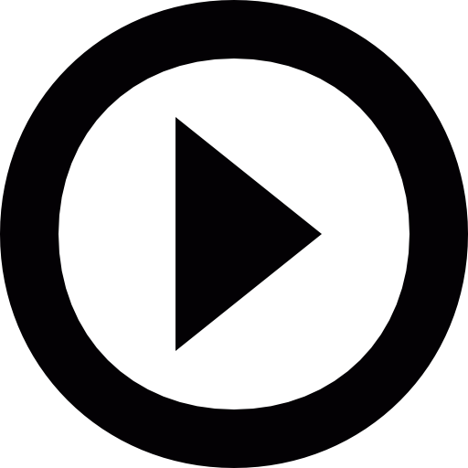 Button play radio or video Icons.