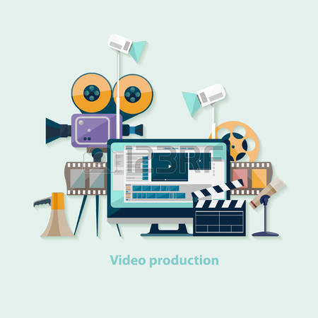 11,891 Video Production Cliparts, Stock Vector And Royalty Free.