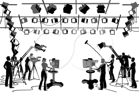 Video Production Clipart.