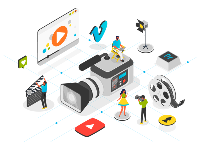 Video production by iVan on Dribbble.