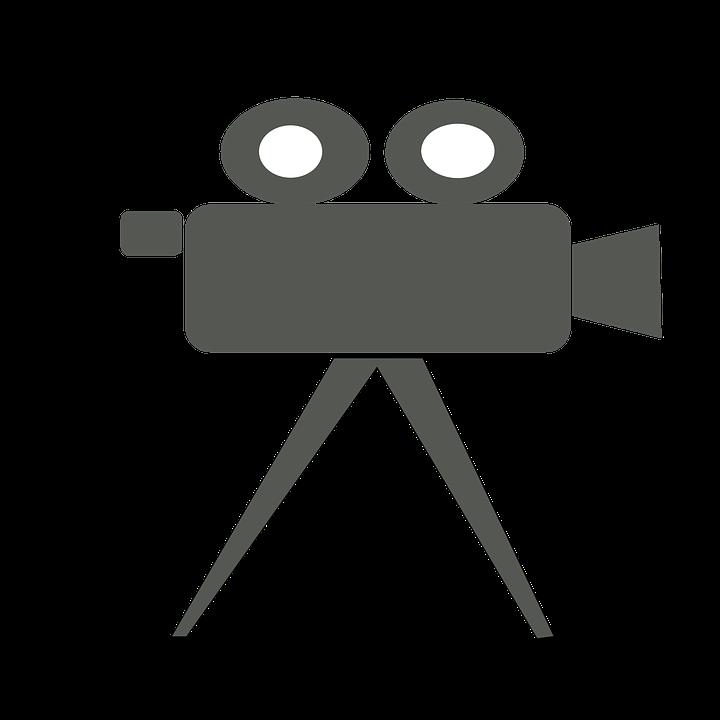 Record Video Clipart Icon.