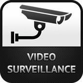 Video Surveillance Symbol Clip Art.