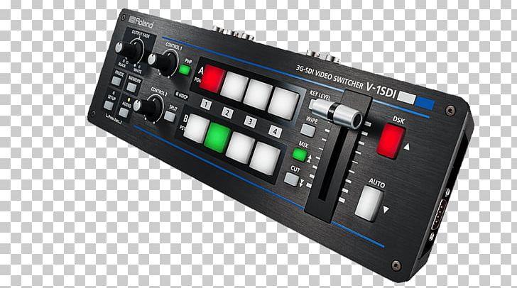 Serial Digital Interface Vision Mixer High.