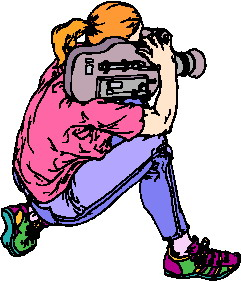 Video Clip Art.
