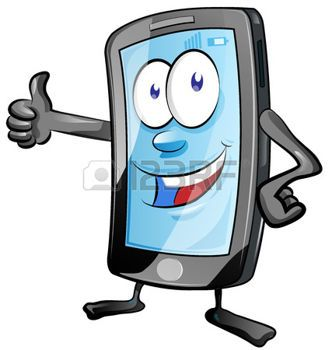 Cell Phone Stock Vector Illustration And Royalty Free Cell.