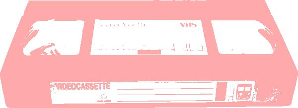 Pink Video Cassette Clip Art at Clker.com.