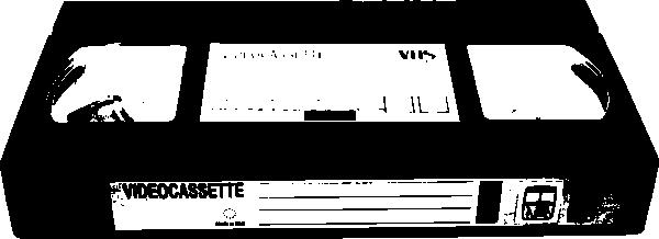 Video Cassette Vhs clip art Free Vector / 4Vector.