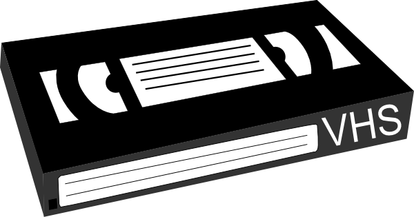 Vhs clipart.