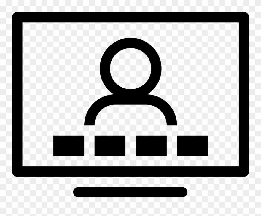 Video Conference Icon Clipart (#1334153).