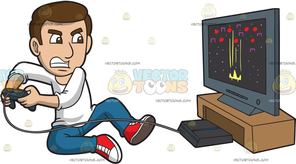 Play videogames clipart 5 » Clipart Portal.