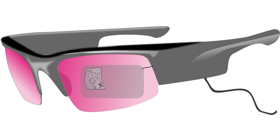 Free vector graphic: Google Glass, Video.