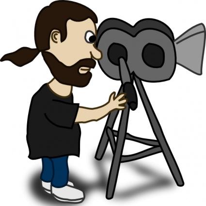 Videographer Clip Art.
