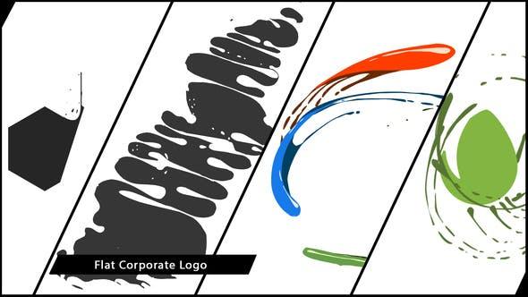Flat Corporate Logo V04 Liquid by MotionToolStore.