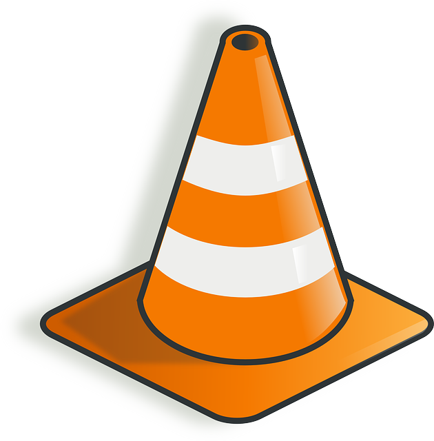 Free vector graphic: Cone, Construction, Warning, Vlc.