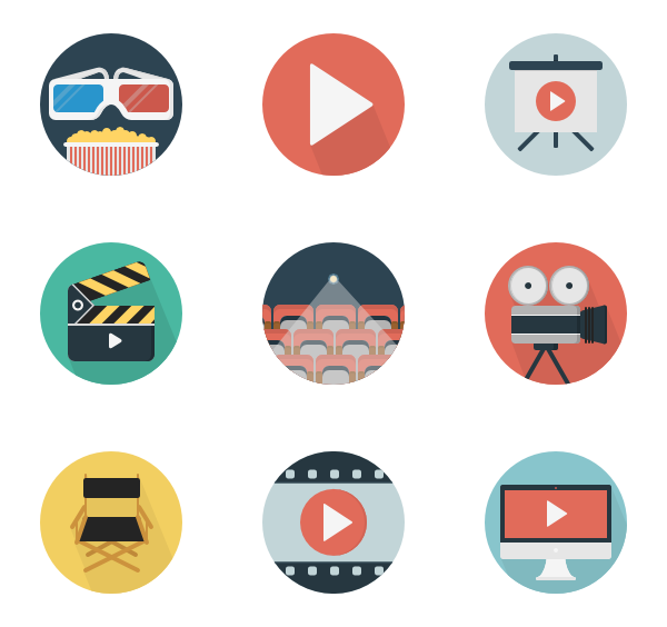 94 video player icon packs.