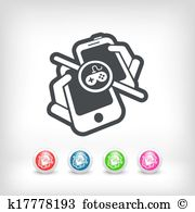 Video telephony Clip Art and Illustration. 92 video telephony.