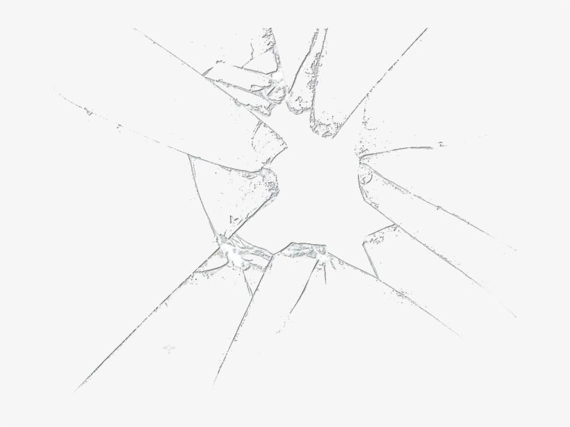 Broken Glass Png File.