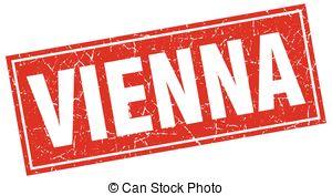 Vectors of Vienna red square stamp csp40701036.