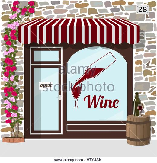 Wine Bar Store Front Stock Photos & Wine Bar Store Front Stock.