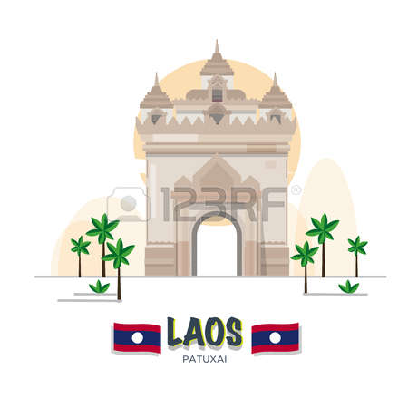 Laos Monument Images & Stock Pictures. Royalty Free Laos Monument.