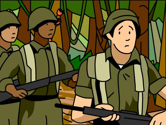Clipart Vietnam War.