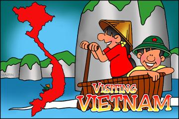 Free Vietnam Clip Art by Phillip Martin.