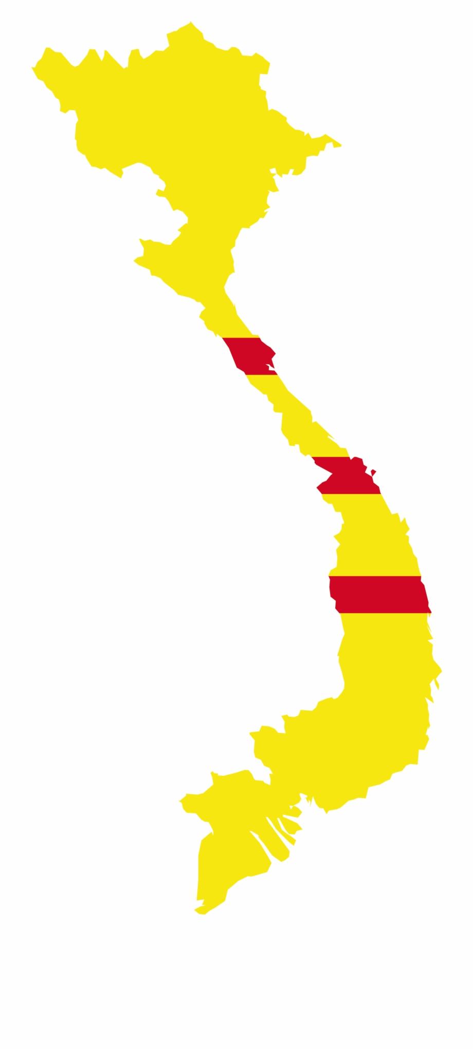 Vietnam Map Vector Png.