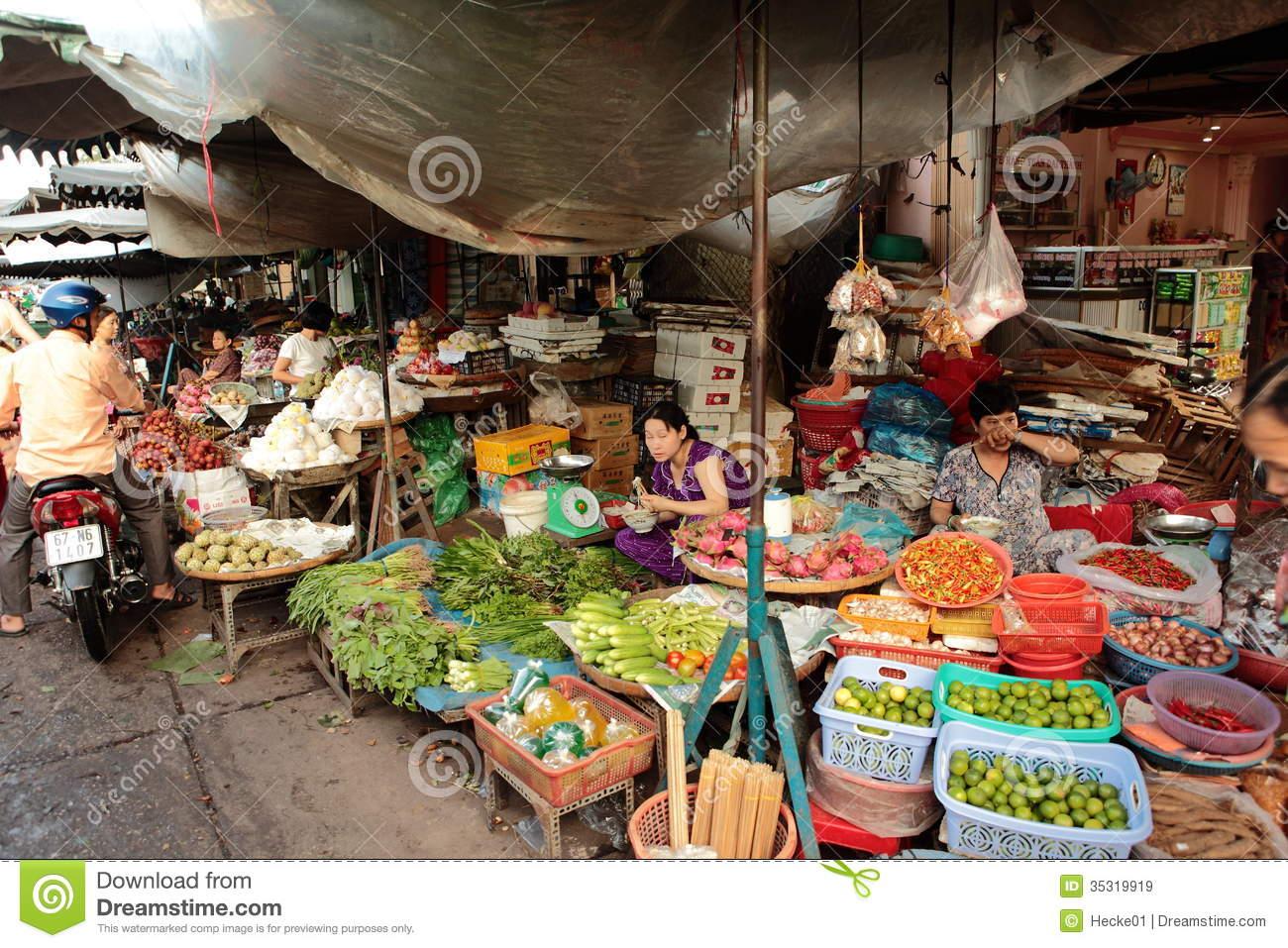 Public market clipart.