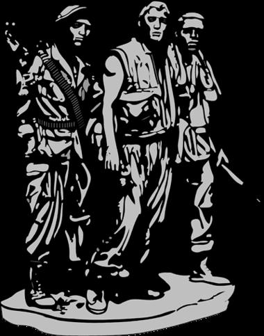 Vietnam Memorial Clipart.