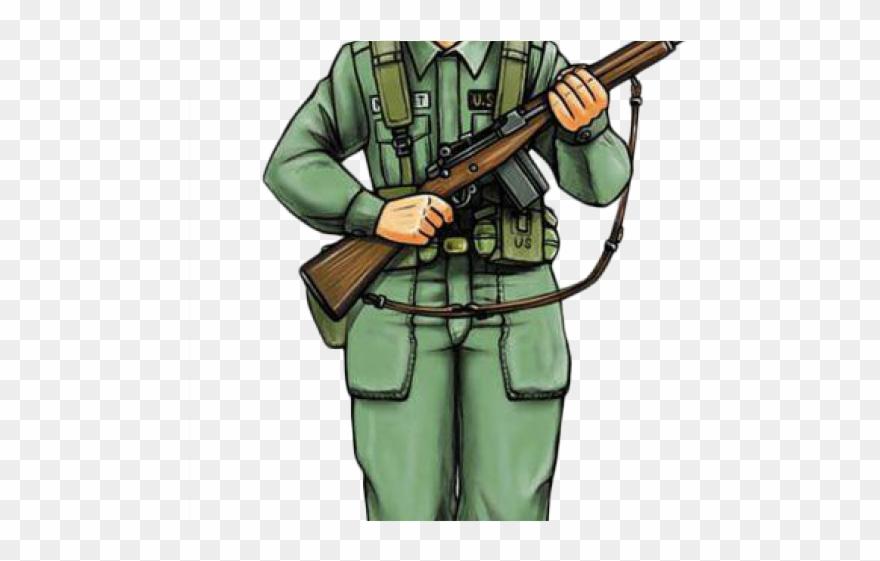 Sniper Clipart Vietnam Soldier.