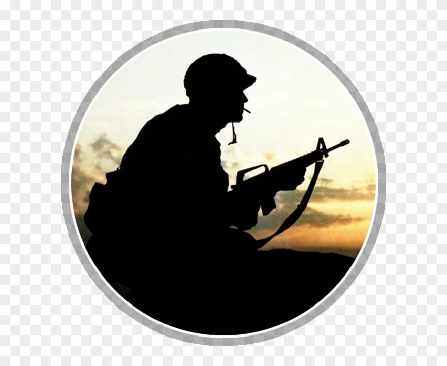 Soldier In Vietnam.