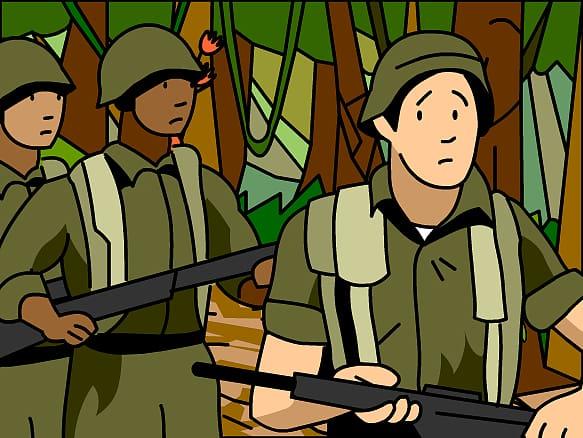 Vietnam Veterans Memorial Vietnam War , Vietnamese.