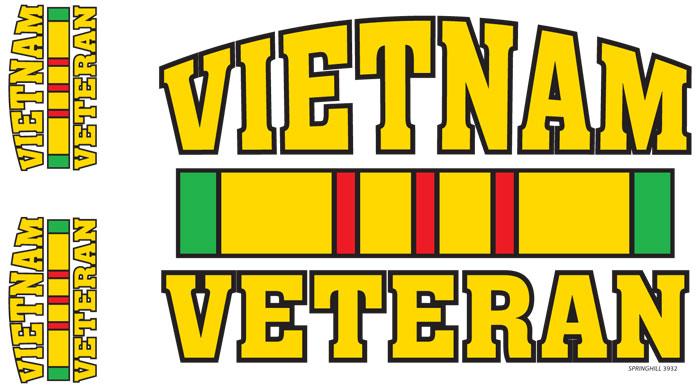 Vietnam Veteran Service Ribbon.