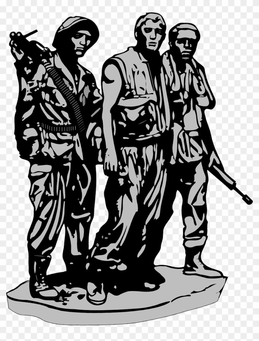 Vietnam Veterans Memorial Clip Art, HD Png Download.
