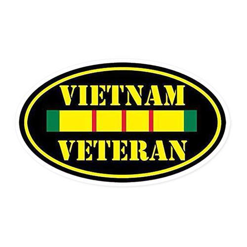 Vietnam Vet Decal.