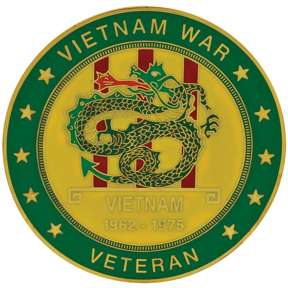 Vietnam Veteran Medallion.