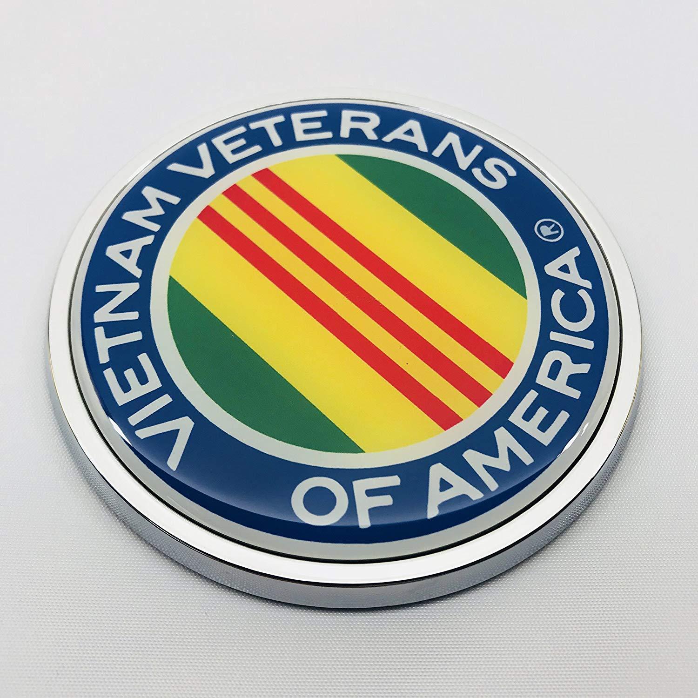 Amazon.com: VIETNAM VETERANS OF AMERICA 3D Domed Emblem.